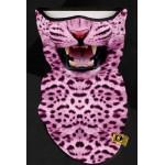 Маска-шарф Pink Leo (Розовый леопард)